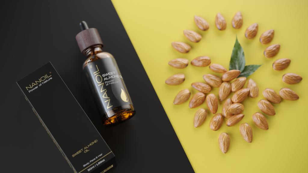 Mandelöl von Nanoil für Haare